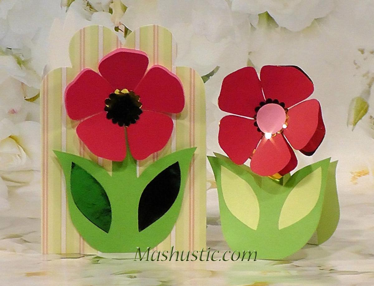 Paper flower cards mashustic paper flowers templates paper flower cards templates mightylinksfo