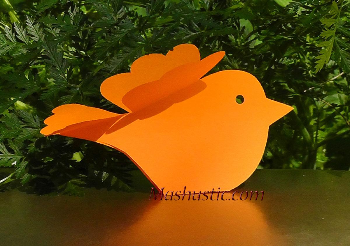3d paper bird diy mashustic com