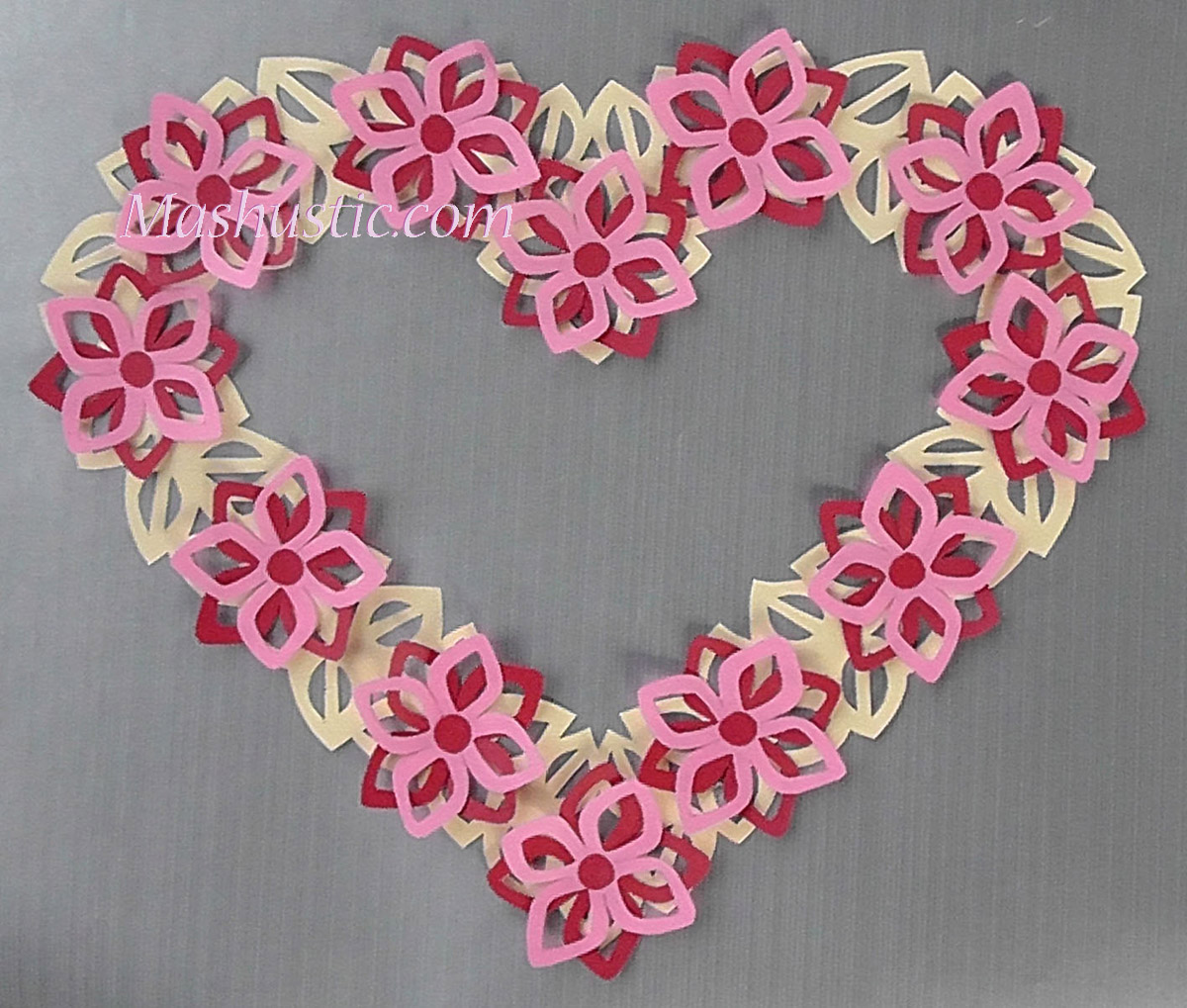 Paper crafts for valentines day mashustic valentines day paper crafts jeuxipadfo Gallery