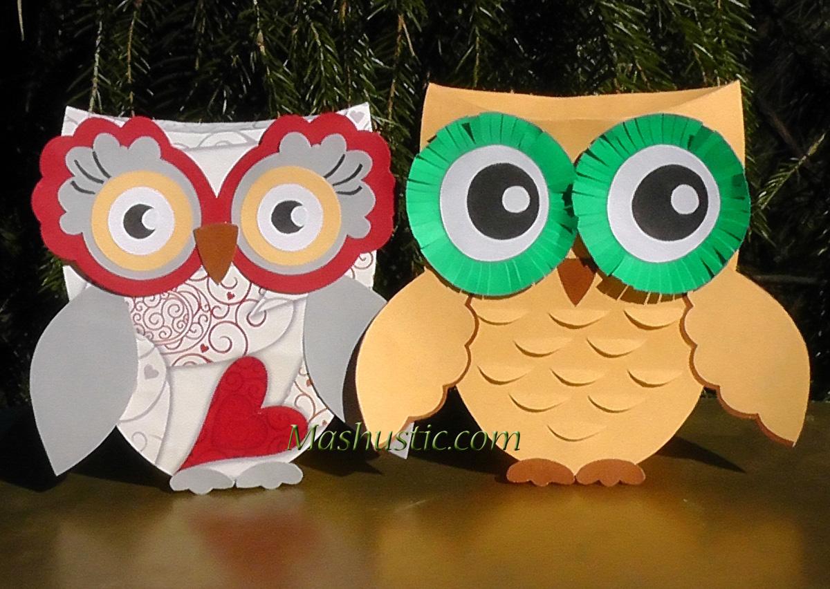 Paper owls patterns mashustic paper owls to make jeuxipadfo Choice Image