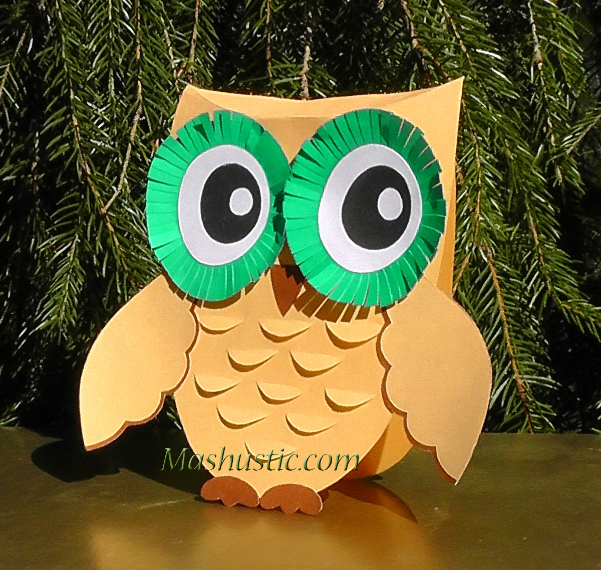 Paper owls patterns mashustic paper owl to make jeuxipadfo Image collections