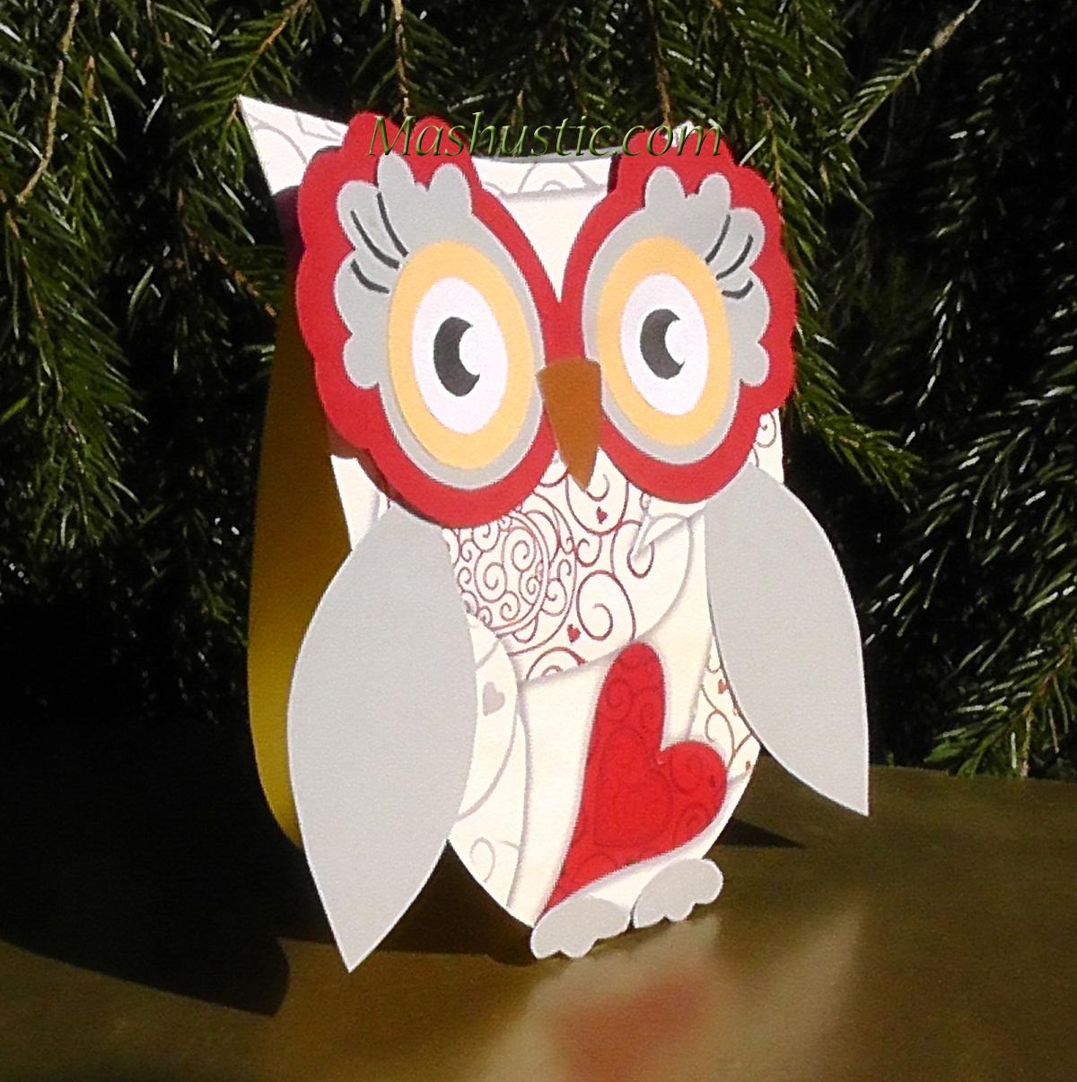 Paper owls patterns mashustic paper craft owl jeuxipadfo Choice Image