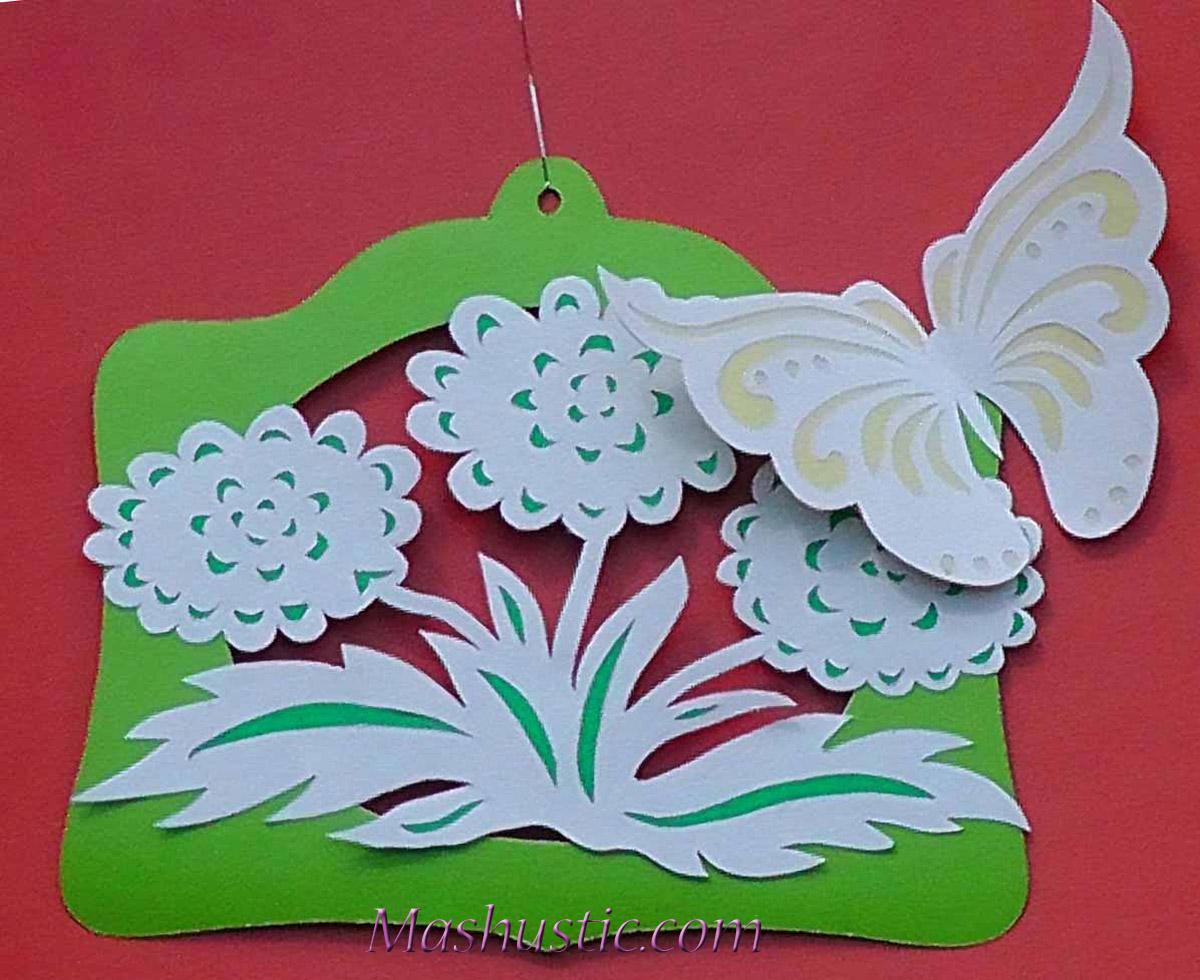 Paper cutting flowers mashustic paper flowers diy mightylinksfo Choice Image