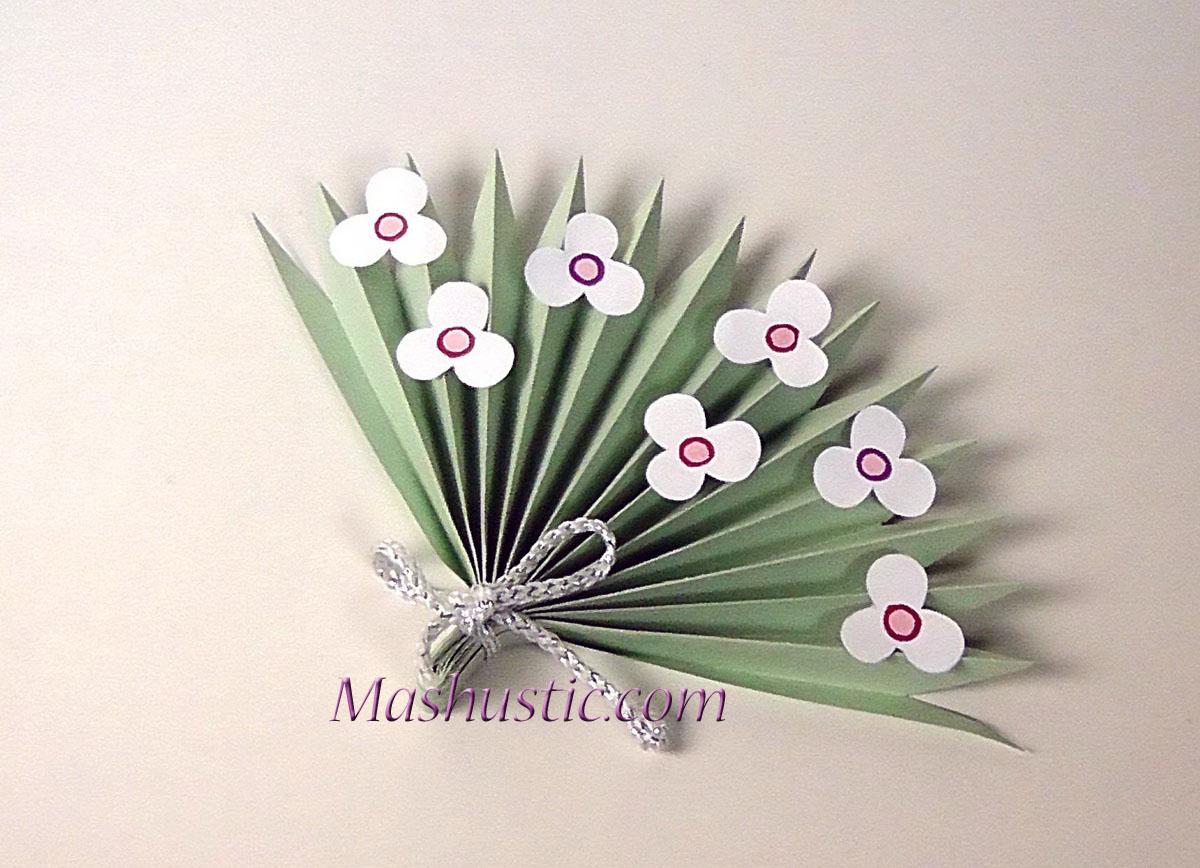 3d Paper Flower Bouquet For Kids Mashustic