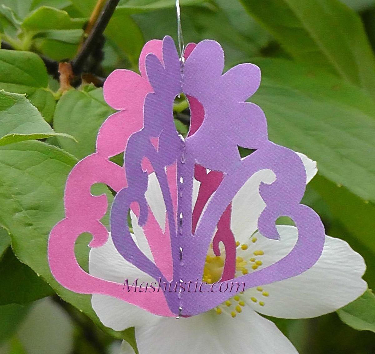 Paper Cutting Flowers Mashustic