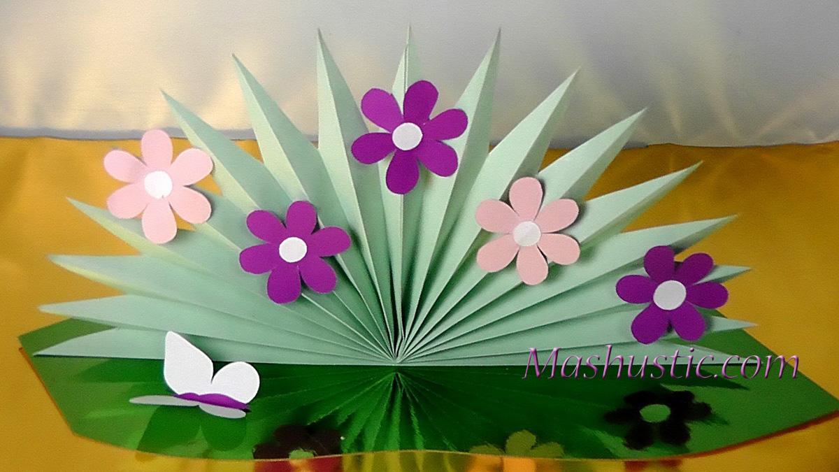 Paper flower bouquet for kids mashustic paper flower bouquet for kids izmirmasajfo