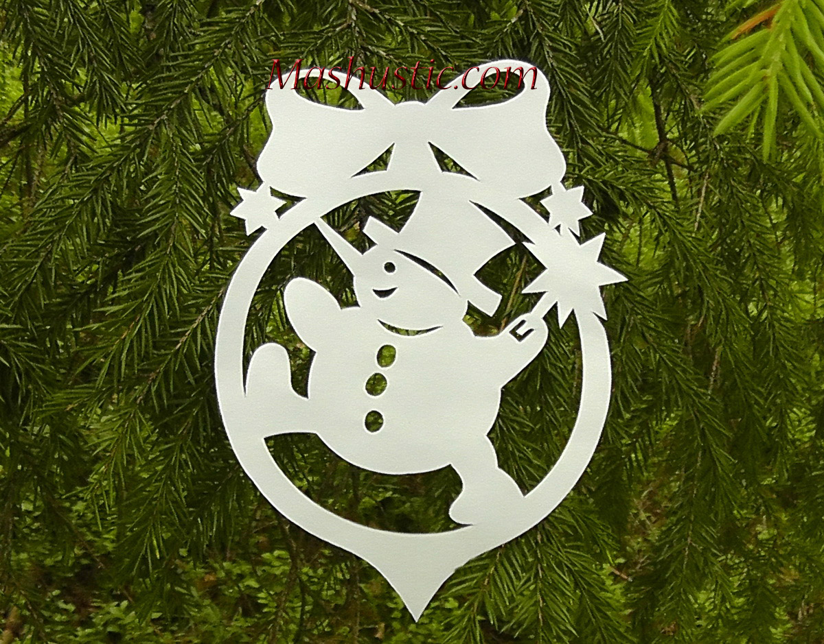 paper christmas tree decorations 2 templates - Paper Christmas Tree Decorations