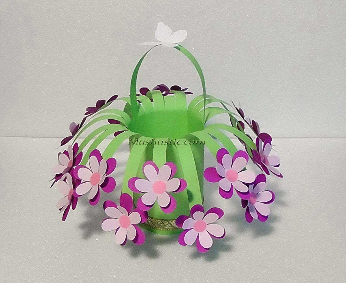 Easy And Beautiful Paper Flower Bouquet Mashustic