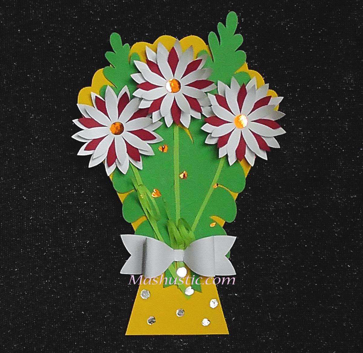 A Paper Flower Bouquet For Kids Mashustic Com